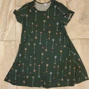 Green Background Jessie dress